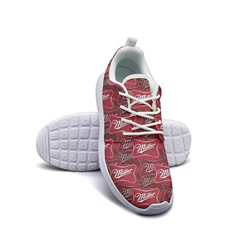 Youth Flat Bottom Miller-Brewing-Company-High-Life-Beer-Pony-Bottles-Logo- Gym Sneakers Fitness Shoe -  Unicorns Farting