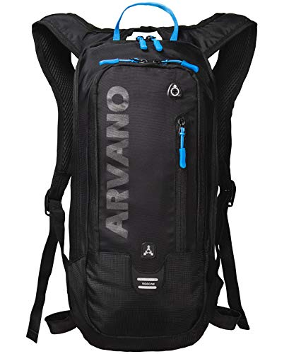 Arvano Mountain Bike Backpack Small Cycling Backpack Biking Daypack Lightweight Breathable Ski Rucksack 6l Outdoor Sport Bag Mtb Bicycle Skiing Riding Day Hiking Snowboarding Climbing Men Women