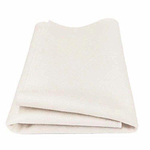 100% Merino Wool Craft Felt - UNDYED Ecru (Half Yard)