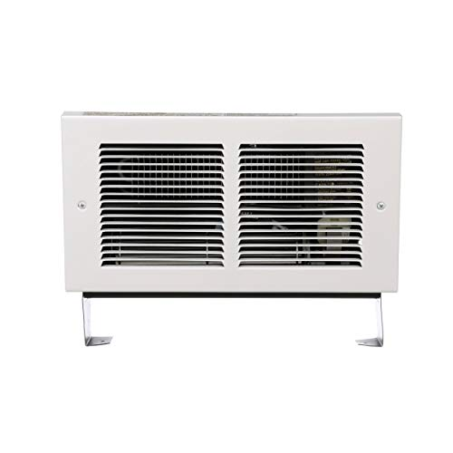 Cadet Register Electric Wall Heater, No Thermostat (Model: RMC202W), 240V, 1500/2000W, White