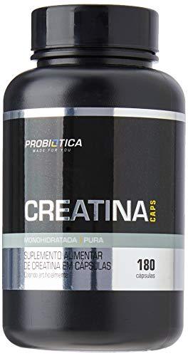 Creatina Caps, 180 Cápsulas, Probiótica