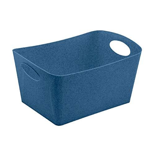Koziol 5743675 BOXXX L, Organic Deep Blue, 48 x 31 cm, h 23,7 cm