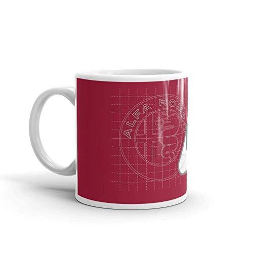 Alfa Romeo Quadrifoglio Inspiration 11 Oz Cerámica