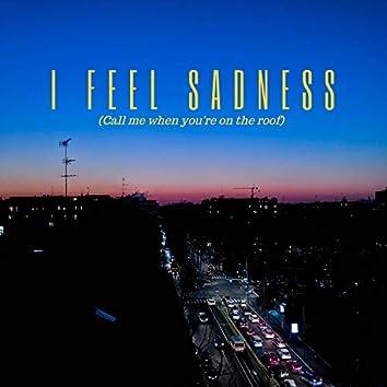 i feel sadness