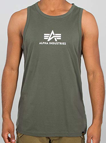 Alpha Industries Basic Tank Top Oliv M