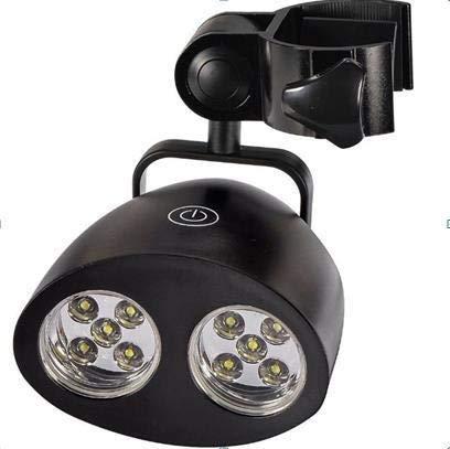 Barbecue Grill Light Outdoor-Grill-Lampe 360 ° Rotation Hitzebeständige 10 superhellen LED-Birnen-Lichter LED-Lichter Grill