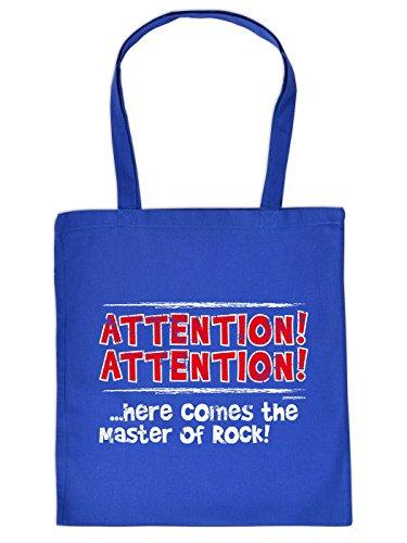 ATTENTION ! Here comes the Master of ROCK ! Original Baumwolltasche von Goodman Design !