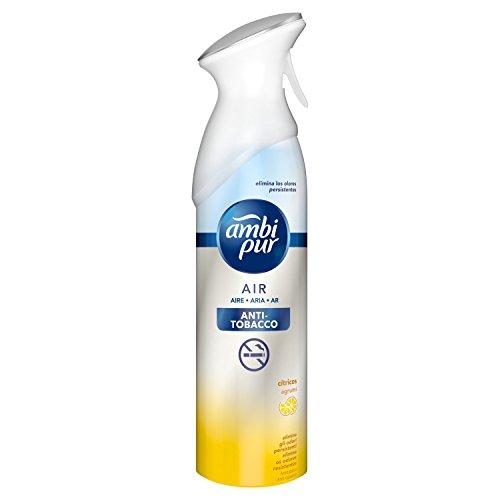 Ambi Pur Antitabaco Eliminador Olores Tejidos Spray