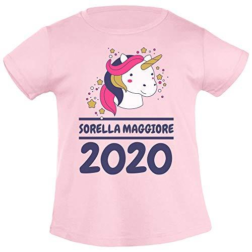 Sorella Squalo Idea Regalo Canzone Bimbi per Famiglie T-Shirt Maglietta Bambina