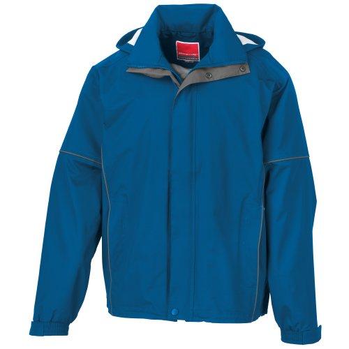 Result - Veste légère imperméable et Coupe-Vent - Homme (M) (Bleu Roi)