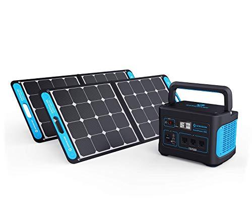 Generark Bundle for Homes: Portable Power Station Backup Battery Solar