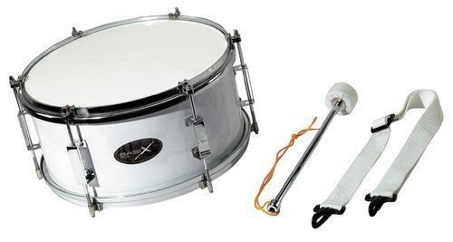 Gewa Basix Marching Drum, weiß, (12 Zoll) x (7 Zoll)