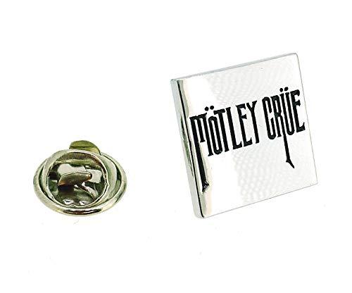 Gemelolandia | Anstecknadel Mötley Crüe | Originelle und preiswerte Anstecker zum Verschenken | für Hemden, Kleidung oder für deinen Rucksack | lustige Details