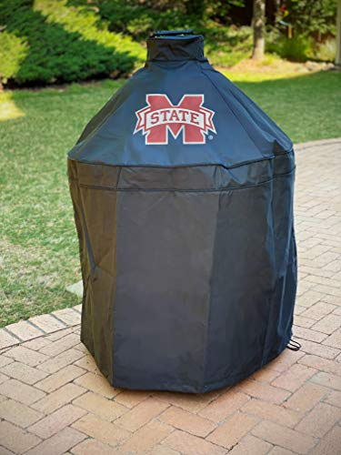 41TH0 8vbEL. SL500  - Mississippi State Grill Abdeckung für Big Green Egg, Kamado Grill Abdeckung, Big Green Egg Zubehör, Collegiate Grill Abdeckungen, Mississippi State Grill Zubehör, Kamado Abdeckung, Durable Grill Cover