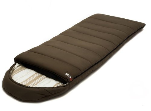 Mivall Nova 2 breiter XXL Schlafsack Deckenschlafsack Sommerschlafsack - Ideal für den Sommer