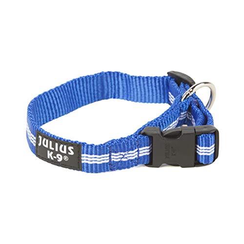 Julius-K9 216HB-IDC-NL-B Collier IDC en nylon, 19 mm x 27-42 cm, Bleu