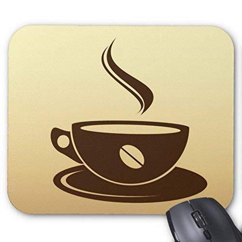 Mousepad Kaffeetasse Silhouette Vector Print Maus Mat