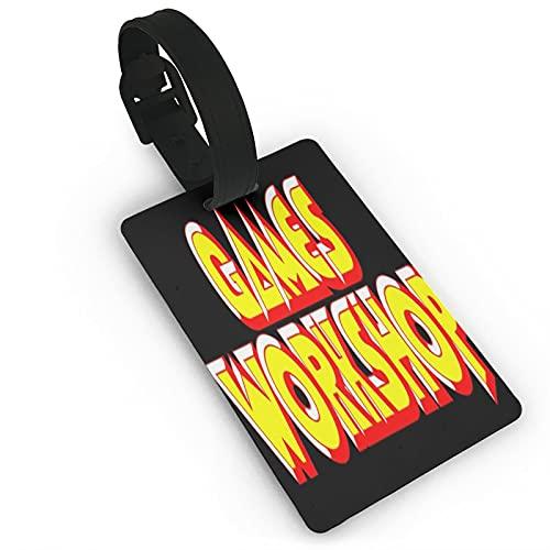 Games Worhshop, etichette per bagagli, unisex, per valigie, per bagagli, etichette identificative con retro completo per la protezione della privacy, per navi da crociera, accessori da viaggio