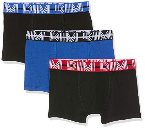 Dim Jungen 6n67070-ra 3 Boxers Badehose, Blau (Outremer 44), 4-5 Jahre (Herstellergröße: 4/5A) (3er Pack)