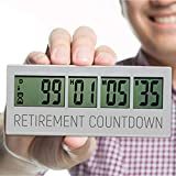 Retirement Countdown Clock, Up to 999 Day Countdown Timer