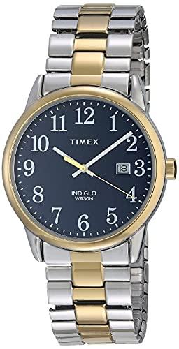 Timex Reloj Análogo clásico para Hombre de Cuarzo con Correa en Acero Inoxidable TW2R58500