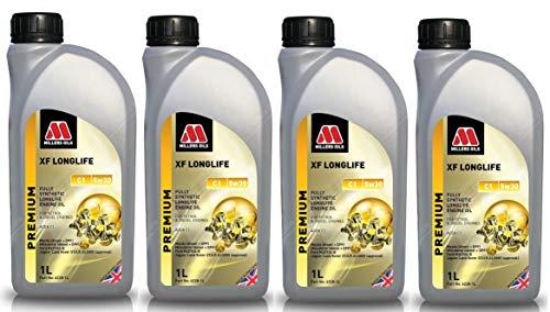 Millers Oils XF Longlife 5w30 C1 volledig synthetische motorolie, 4 liter