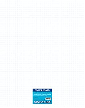 Ghostline Poster Board White N/A 22  x 28  25 Sheets