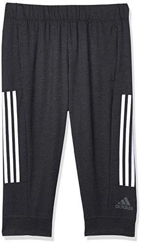 adidas Damen 3S Knit Cap Pt Kurze Hose, schwarz/weiß, S