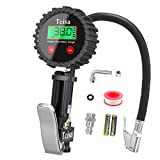 Tcisa Tire Inflator With Pressure Gauge