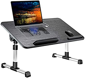 Leehee Adjustable Lap Bed Tray Folding Table Stand