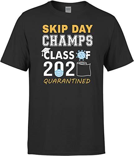 Senior Class of 2020 Quarantine Shirt - Skip Day Champions T-Shirt Gift Black