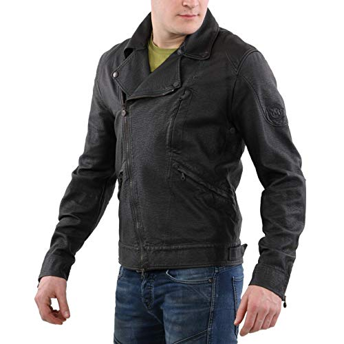 Matchless Herren Sommer Jacke Rockers Blouson Black 110108 Größe L