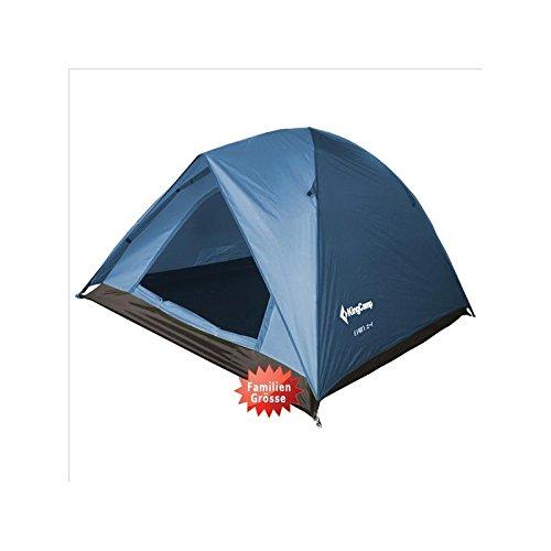 KingCamp Family 3 Campingzelt 3 Pers. Kuppel Zelt Familienzelt