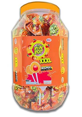 Pin Pop MANGO BUBBLEKNOTS Lolly's (100)
