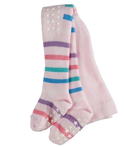 FALKE FALKE Babys Strumpfhosen Multi Stripe, 87% Baumwolle, 1 Stück, Rosa (Rose 8907), Größe: 62-68