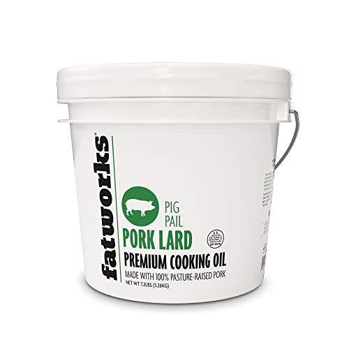 Fatworks Pasture Raised Pork Lard-1 Gallon
