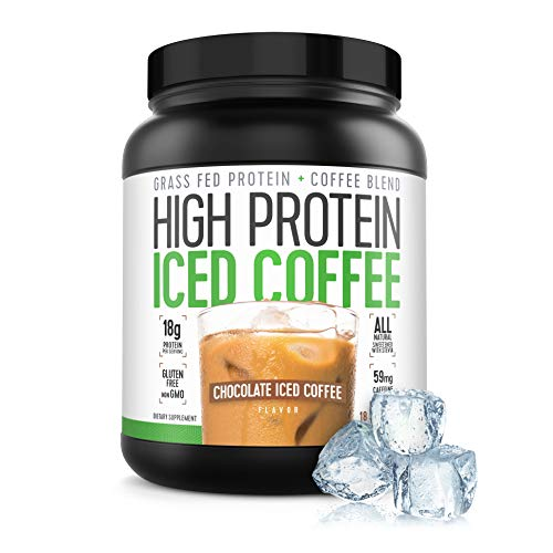 Protein Coffee Iced Coffee, High Protein Coffee, Protein Coffee, Keto Friendly, 18g of Protein, 2g Carbs, All Natural