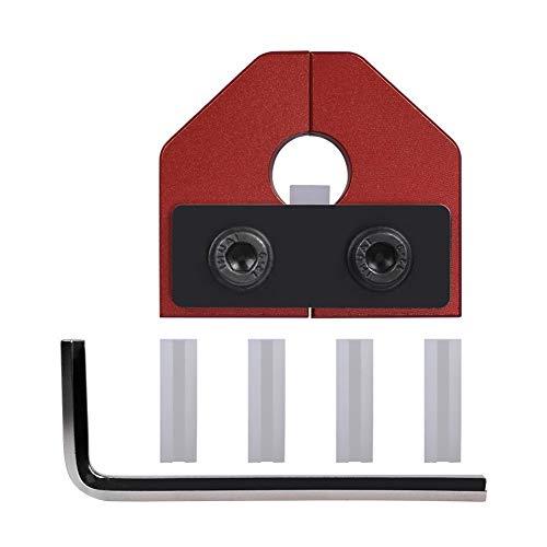LIZONGFQ Zhang Asia Impresora 3D de Piezas de 1,75 mm de filamento Conector Soldador / 3.0mm PLA ABS filamento Sensor en Forma for Ender 3 Pro Impresora 3D Anet Bloque de Aluminio (Size : 1.75mm Red)