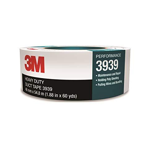 3M 窓ガラス養生 ブルーシート補修 ダクトテープ 補修テープ 3939 銀色 48mm幅x54.8M
