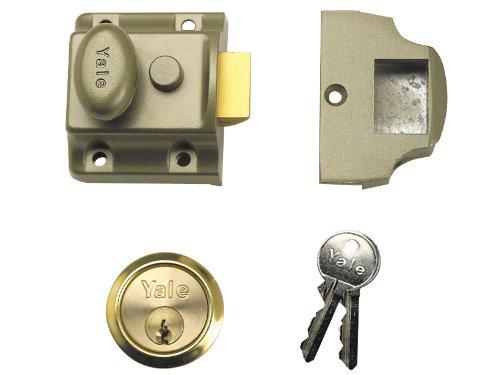 Yale Locks 723PB nachtkastje gepolijste messing cilinder