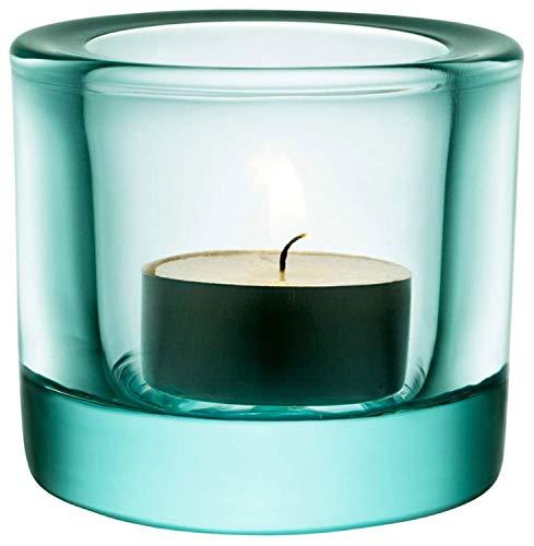 Iittala 1007368 Teelichthalter Kivi, wassergrün, 60mm