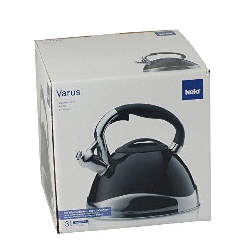 Kela 11656 Varus Bouilloire Inox Compatible...