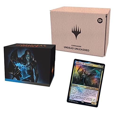 Magic the Gathering Innistrad: Mitternachtsjagd Commander-Deck – Entfesselte Untote, Minimal verpackte (Englische Version)