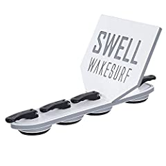 """Suctions on your Inboard or V-Drive boat with smaller footprint to create a Killer Wave! Designed as a solution for boats the Creator 2.0 or other Wake Shapers will not fit. The Perfect Solution for Mastercraft X2, X30, X45 and other models Only 3.5""""..."""