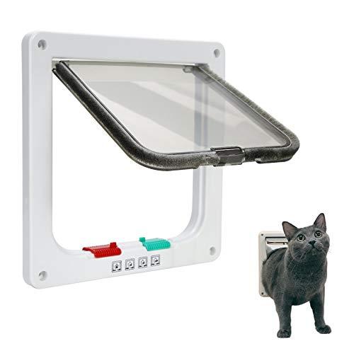 Ducomi - Gatera para Gatos y Perros de Pared - Puerta bascul