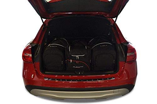 KJUST Dedizierte Reisetaschen 4 STK kompatibel mit Mercedes-Benz GLA X156 2013 -