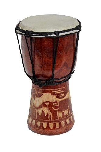 30cm Djembe Tambor Bongo Ninos Tromel Elefante A2