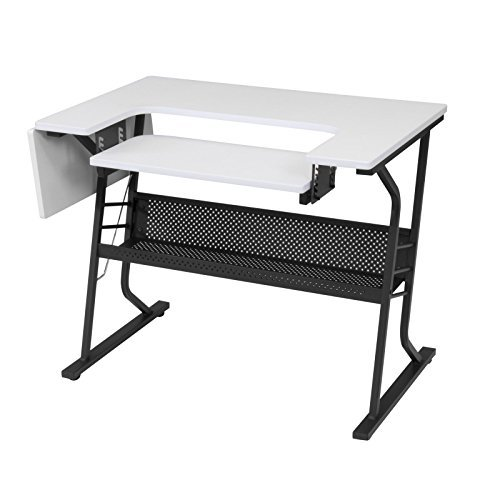 Studio Designs Eclipse Sewing Machine Table White