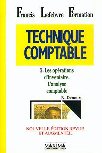 TECHNIQUE COMPTABLE T2 (02) (Bases du savoir, Band 2)