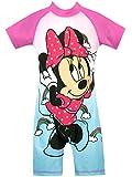 Disney Bañador para Niña Minnie Mouse Azul 3 a 4 Años